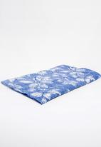Joy Collectables - Flower Print Scarf Navy