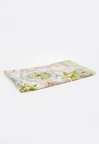 Joy Collectables - Flower Print Scarf Green