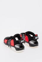 POP CANDY - Velcro Strap Sandal - Black