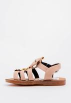 POP CANDY - Bow Detailed Sandal Pale Pink
