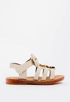 POP CANDY - Bow Detailed Sandal Beige