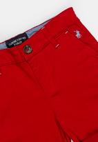 POLO - Kids Andrew chino shorts - red