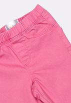 POP CANDY - Skinny cropped jeans - mid pink