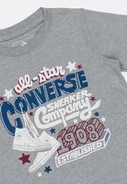 937a275e271b Converse old school type tee - grey Converse Tops