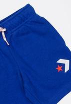 Converse - Star chevron graphic short - blue