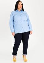 STYLE REPUBLIC PLUS - Basic shirt - blue
