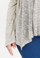 edit Plus - Light Weight Cardigan Grey