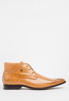 MAZERATA - Grazie 52 lace up boots - tan