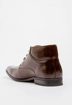 MAZERATA - Grazie 52 Lace Up Boots Dark Brown