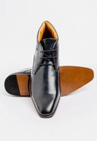 MAZERATA - Grazie 52 lace up boots - navy