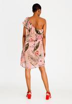 ONLY - Maya One Shoulder Dress Rose