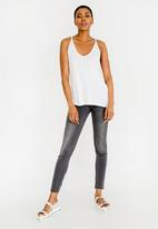 ONLY - Carrie Singlet Top White