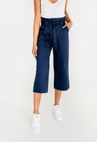ONLY - Hanna Culotte Trousers Navy