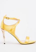Dolce Vita - Tiffany strappy heels - yellow