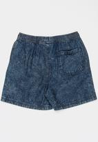 POP CANDY - Denim shorts - blue