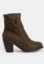 JEEP - Lama Mid Calf Boots Brown