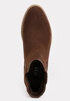 JEEP - Tania Ankle Boots Dark Brown
