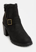 JEEP - Panda high heel boots - black