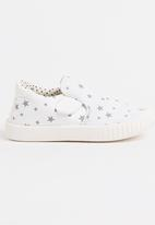POP CANDY - Printed Sneaker White