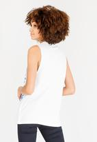adidas Originals - Sleeveless tee - white