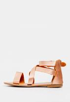 STYLE REPUBLIC - Gladiator sandals - Rose gold