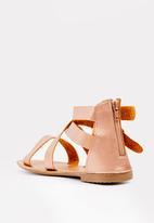 STYLE REPUBLIC - Gladiator sandal - rose gold