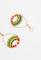 STYLE REPUBLIC - Beaded earrings - multi