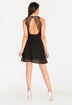ONLY - Trish Lace Dress Black