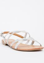 STYLE REPUBLIC - Tube Sandals Silver