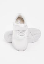 POP CANDY - Velcro strap sneaker - white