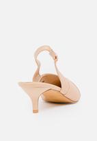 STYLE REPUBLIC - Metallic toe cap courts - pink