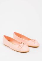 POP CANDY - Bow detailed pumps - pink