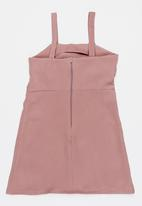 Rebel Republic - Bow detail dress - pink