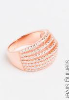 edit - Broad dress ring - rose gold