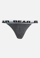 Bear - 5 Pack Plain Tanga Multi-colour