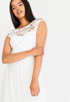 ONLY - Crochetta Dress White
