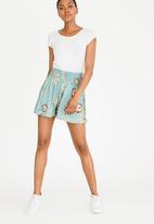 Roxy - Love shorts - green