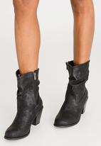 JEEP - Musk Ruched Boots Black