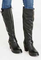 JEEP - Fox knee length boots - black