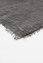 Joy Collectables - Striped scarf - black
