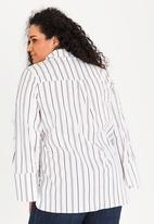 STYLE REPUBLIC PLUS - Pearl button shirt - multi