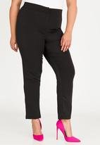 STYLE REPUBLIC PLUS - High waisted smart pants - black