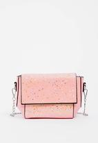 POP CANDY - Glitter Sling Bag Pale Pink