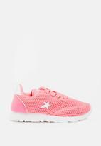 SOVIET - Mumbai lace up sneaker - pink
