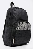 POP CANDY - Aztec printed backpack - black