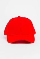 STYLE REPUBLIC - Plain Cap Red