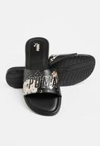 PUMA - Xcelcat glitz slide - black