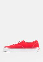 Vans - Authentic Sneakers Red