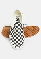 Vans - Classic checkerboard Slip-ons  - black & white