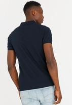 Tommy Hilfiger - Tipped Polo Golfer Blue